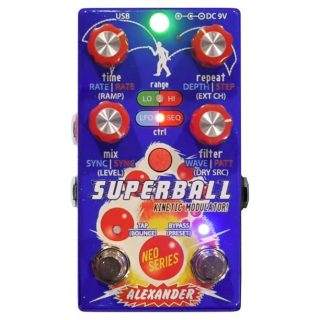 Alexander Pedals Superball Kinetic Modulator