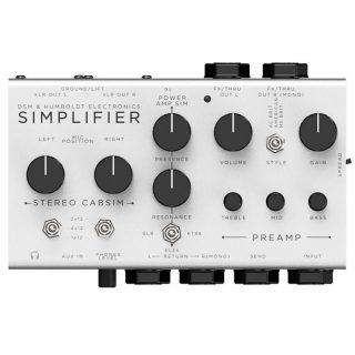 DSM and Humboldt Simplifier Analog Amp/Cab Simulator