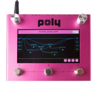 New For NAMM 2020: Poly Effects Bebo Multi-Effect Unit