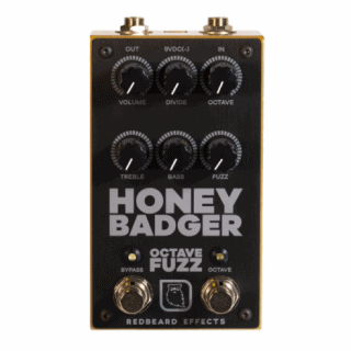 Redbeard Effects Honey Badger Octave Fuzz