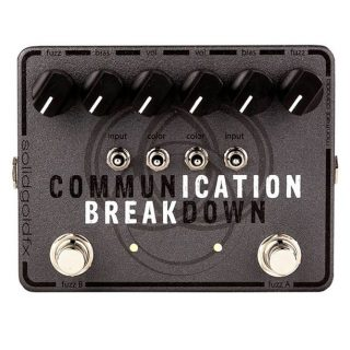 New Pedals: SolidGoldFX Communication Breakdown Dual Bender Fuzz