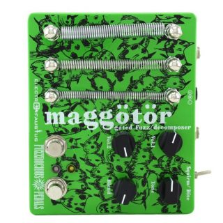 New For NAMM 2020: Fuzzrocious Maggotor Gated Fuzz