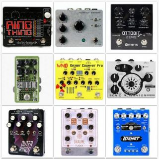 Best Lo-Fi, Distortion and Modulation Pedals for Synths with CV In