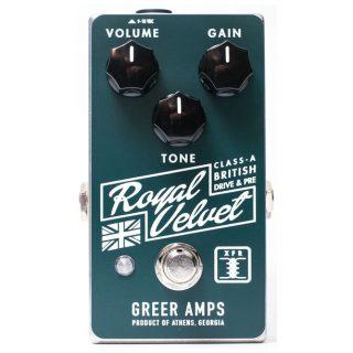 Greer Amps Royal Velvet Overdrive/Preamp