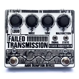 New Pedals: Audio Disruption Devices Failed Transmission Fuzz/Overdrive