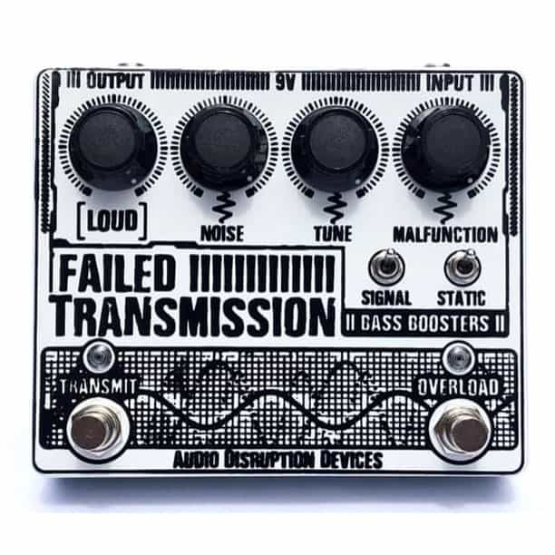Audio Disruption Devices Failed Transmission