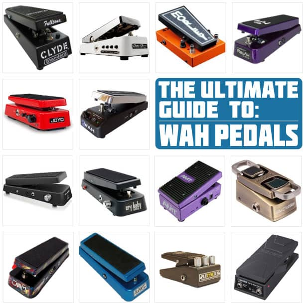 A selection of the Best Wah Pedals