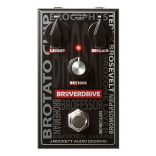New Pedal: J. Rockett Audio Broverdrive Overdrive