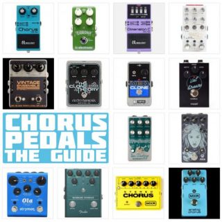 The 15 Best Chorus Pedals in 2020 – Top Mono and Stereo Recommendations