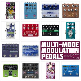 The 16 Best Multi-Modulation Pedals in 2021 – Stereo, Mono and Dual