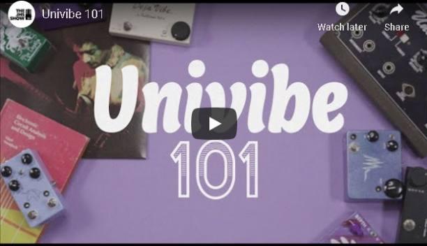 Best Uni-Vibe Pedals Video