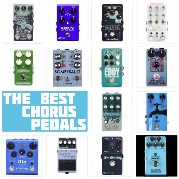 Best Chorus Pedals mono stereo