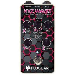 New Pedal: Foxgear XYZ Waves Multi-Modulation Hub
