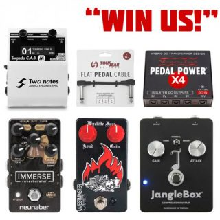 Win Pedals by Neunaber, JangleBox, Two notes & Westminster + a Voodoo Lab PSU!