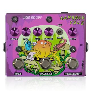 New Pedal: Wren and Cuff Garbage Face – J. Mascis Signature Fuzz