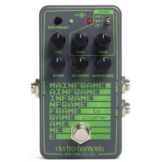 New Pedal: Electro-Harmonix Mainframe Bit Crusher + Filter