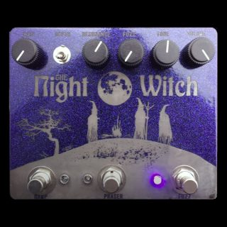Make Sounds Loudly Pedals Night Witch Fuzz + Phaser