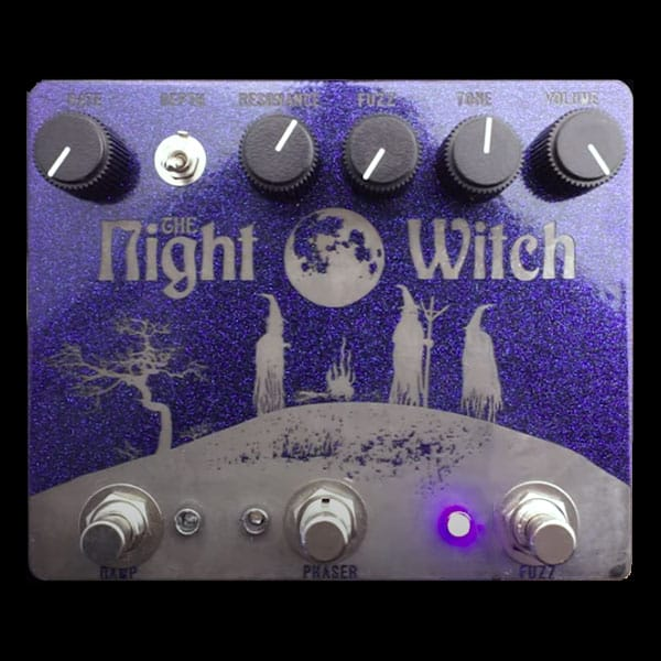 Make Sounds Loudly Pedals Night Witch