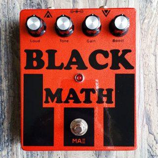 Mask Audio Electronics Black Math Fuzz
