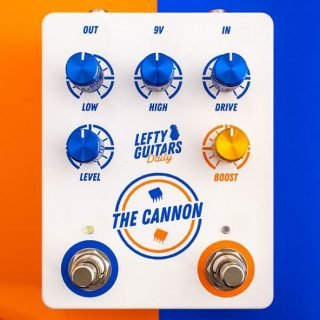 New Pedal: Lefty Guitars Daily The Cannon