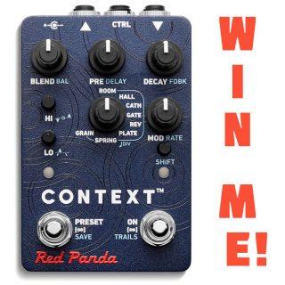 Win a Red Panda Context V2 Reverb through Effectopia 2020