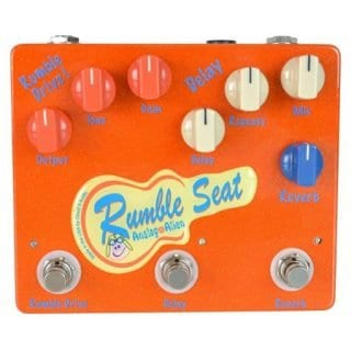 Analog Alien Rumble Seat Drive/Delay/Reverb