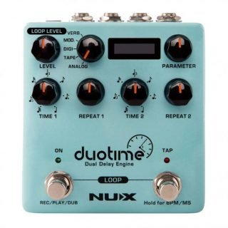 NUX Duotime Dual Stereo Delay Engine