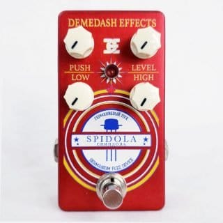 New Pedals: Demedash Effects Spidola Germanium Fuzz