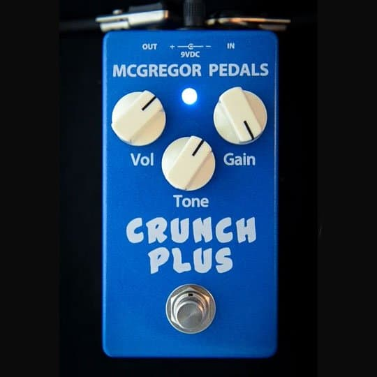 McGregor Pedals Crunch Plus