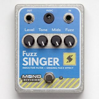 New Pedal (with top mounted jacks!): Mono Division Fuzz Singer