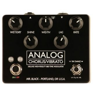 New Pedals: Mr. Black Analog Chorus/Vibrato Deluxe