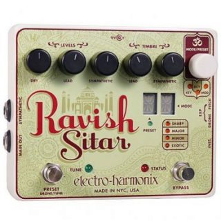 Pedal Review: Electro Harmonix Ravish Sitar