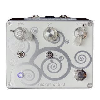 Spiral Electric FX White Spiral/Secret Chord Dual Boost/Distortion