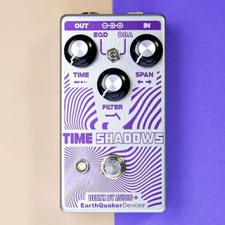 EarthQuaker + Death by Audio Time Shadow Filter, Delay Pedal