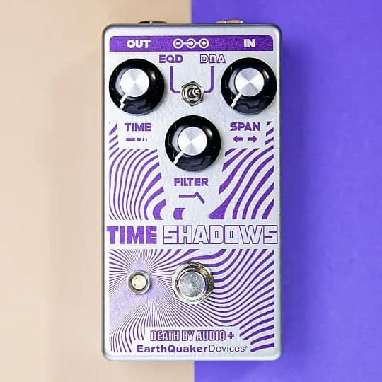 EarthQuaker Devices + Death By Audio Time Shadows