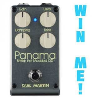 Win a Carl Martin Panama Overdrive! [ended]