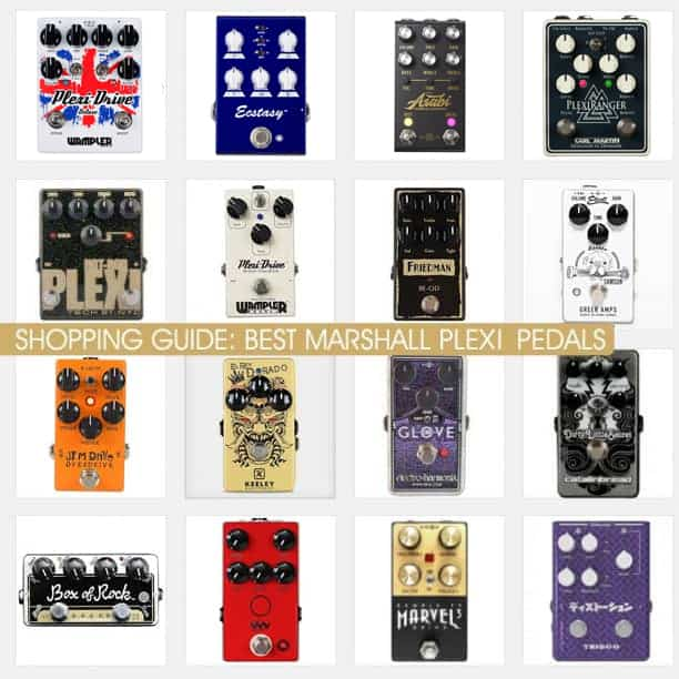 Best Plexy Pedals and JCM inspired Distortions