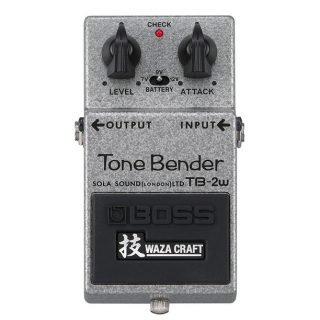 Pedal Announcement: BOSS TB-2W Tone Bender (Sola Sound collaboration)