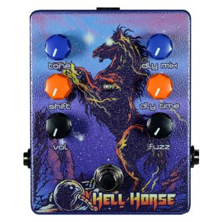 New Pedal: Haunted Labs & Dirty Haggard Hell Horse Fuzz/EQ/Delay