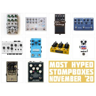 The Monthly Stompbuzz, November 2020 – Most Searched Pedals on Our Blog