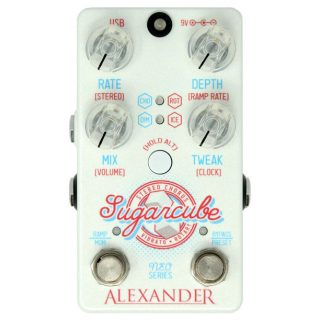 New Pedal: Alexander Pedals Sugarcube Stereo Chorus/Rotary