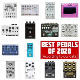 The Best Guitar Effects Pedals of 2020 (according to our data)
