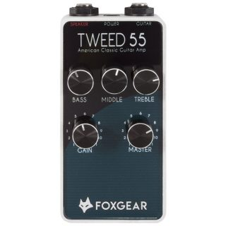 New Pedal: Foxgear Tweed 55 Amp in a Pedal