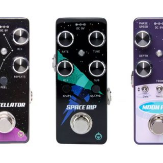 Upcoming Pedals: Pigtronix Moon Pool, Constellator and Space Rip