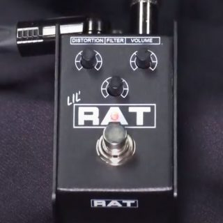 Upcoming Pedal: Lil' RAT Distortion (a Mini RAT!)