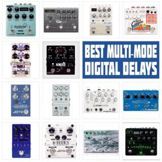 Best Multi-Mode Digital Delay Pedals in 2021