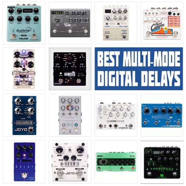 Best Multi-Delay Pedals 2021