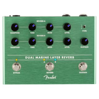 New Pedals: Fender Dual Marine Layer