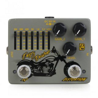 Caline Easy Driver Distortion + Graphic EQ