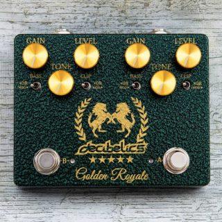 New Pedal: Decibelics Golden Royale Double Klone